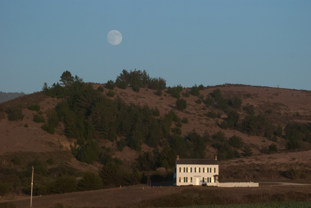 Johnston House Moon Rise
